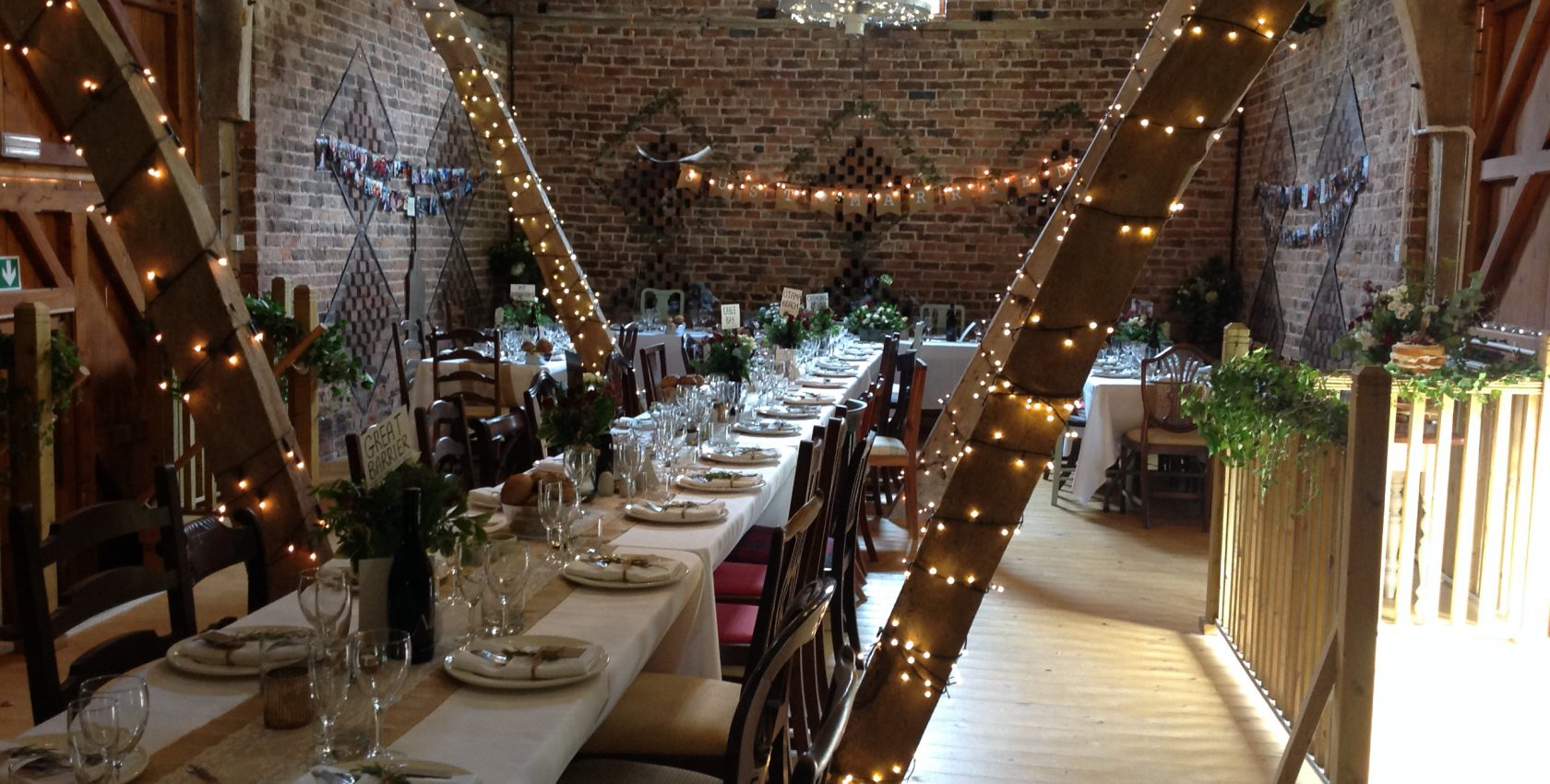 converted barn for weddings and parties