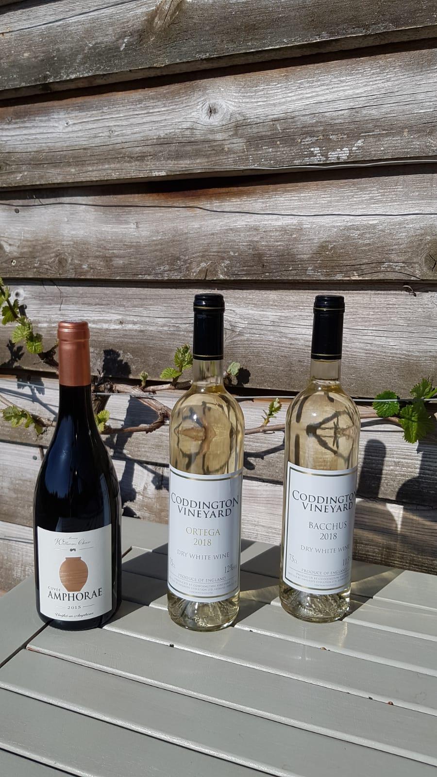 Mixed wine case 3 bottles varieties